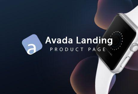 Avada Landing